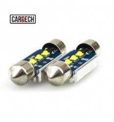 Bec led C5W 3 SMD CREE Can-Bus 9w 39mm
